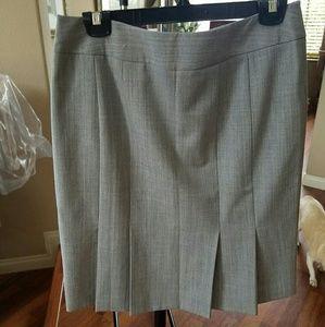 WHBM Skirt with back ruffle